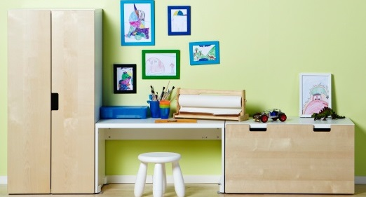 Apartment hacks renting studio apartment decor home is where the heart - Ikea chambre d enfants ...